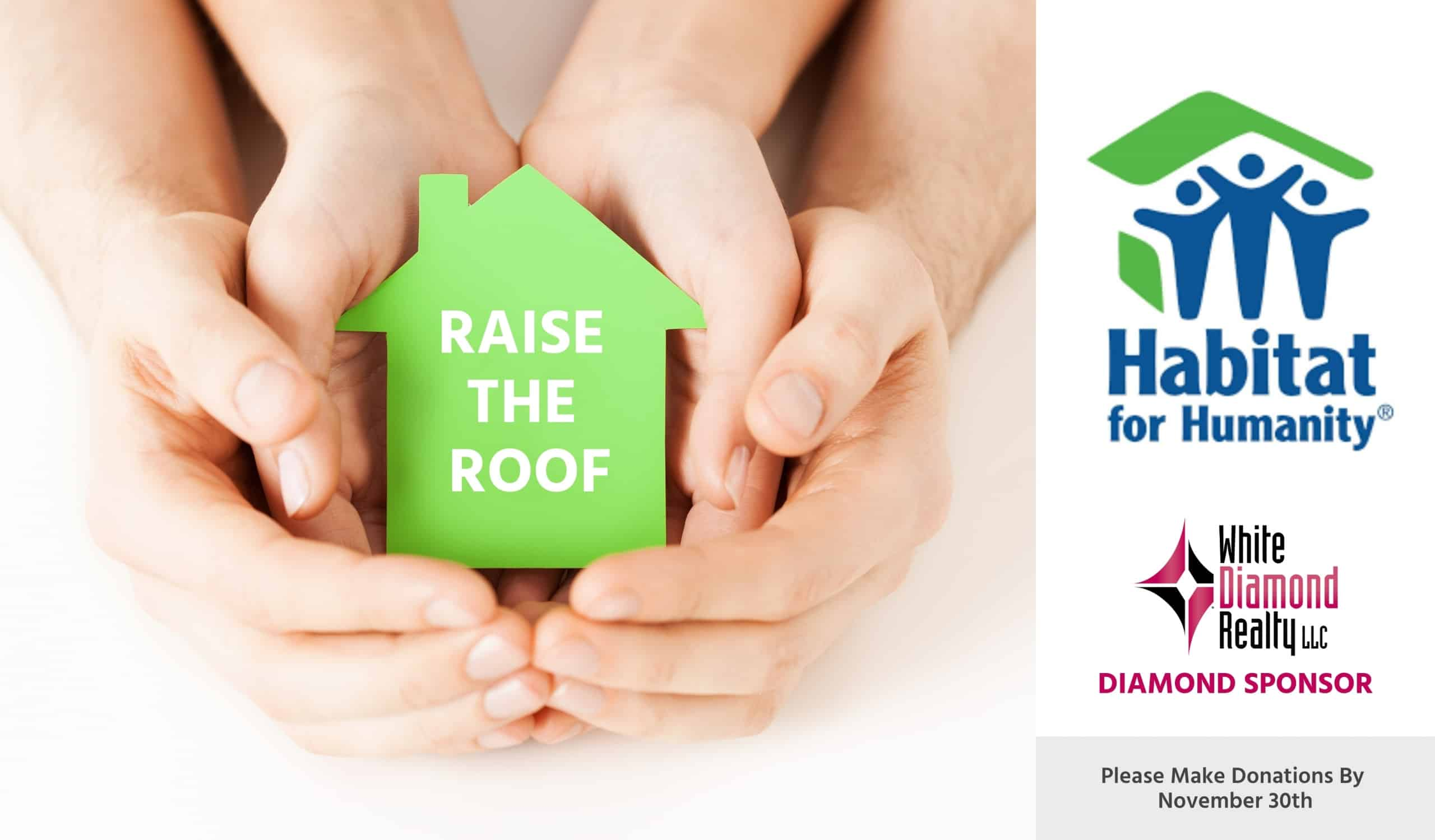 White-Diamond-Sponsors-Habitat-For-Humanity-Raise-The-Roof-as-Diamond-Sponsor