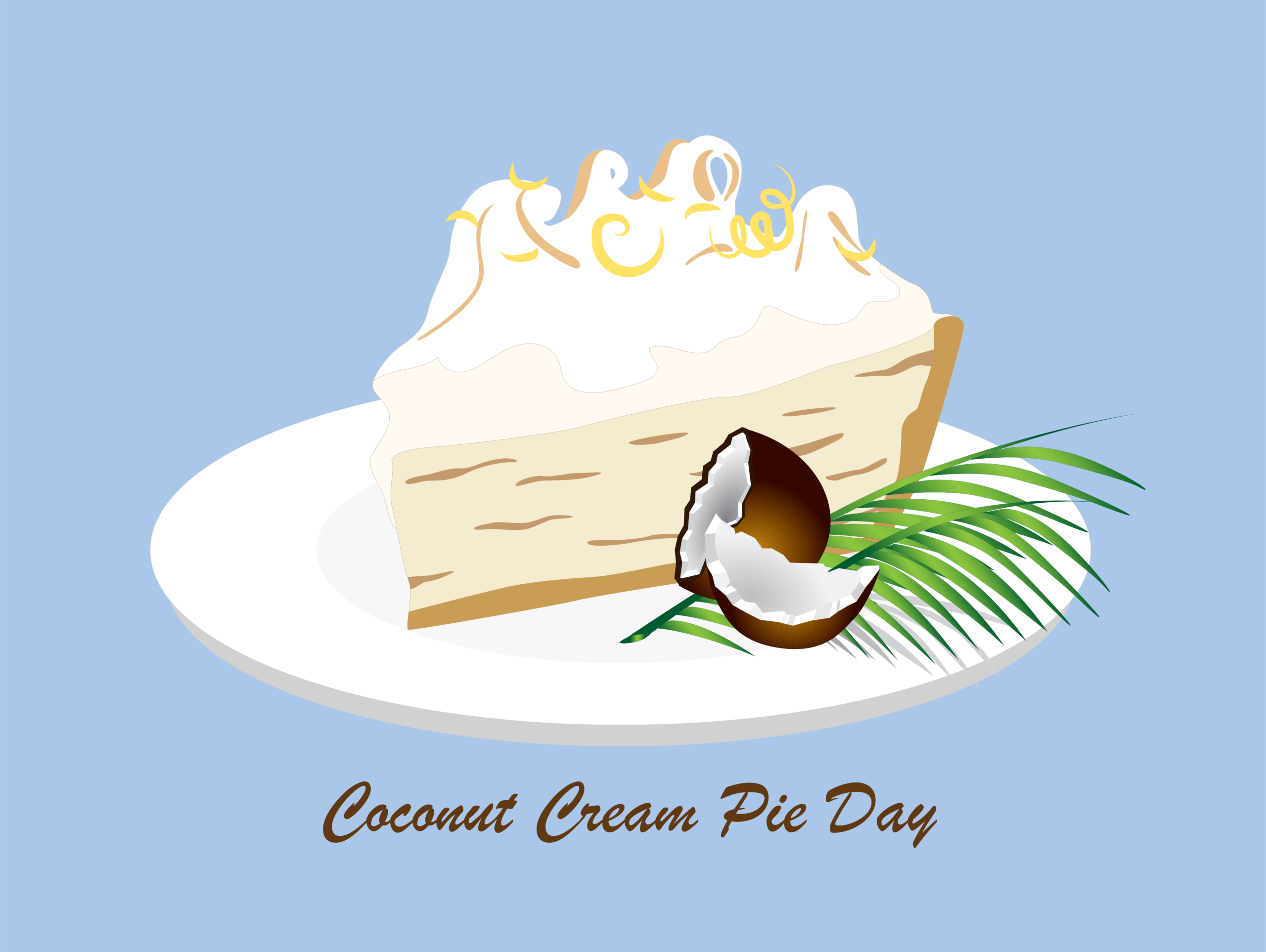 coconut cream pie day
