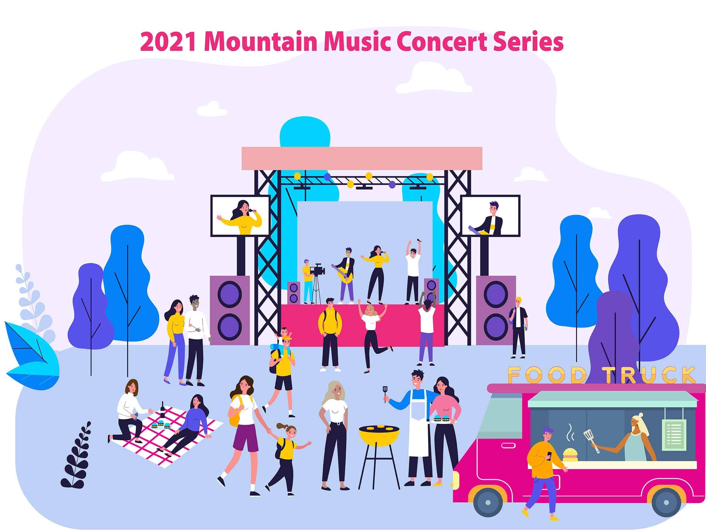 2021 Mountain Music Concert Series